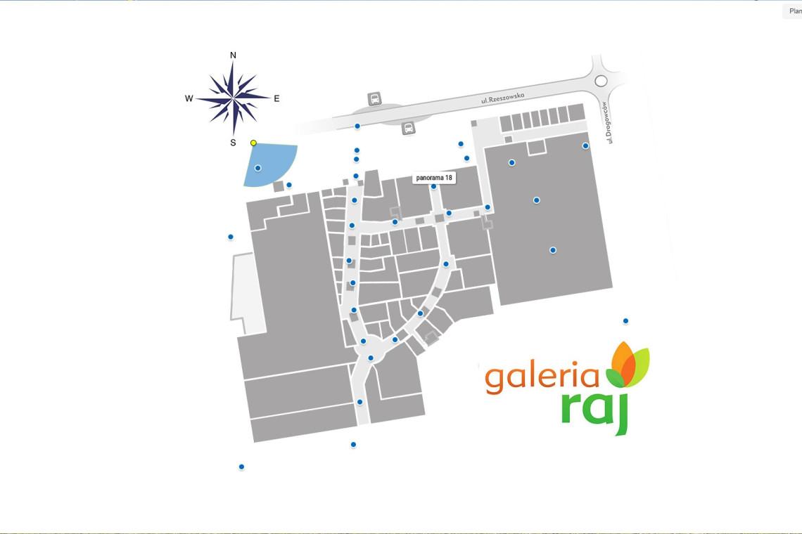 mapa Galeria Raj